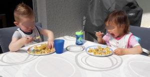 petit repas en plein air près de Roques sur Garonne