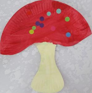 un champignon à Villeneuve Tolosane